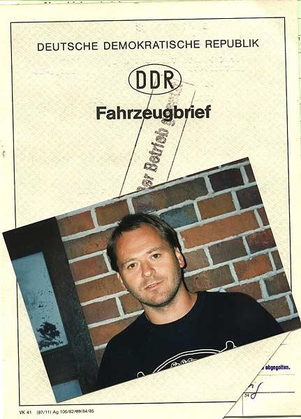 Fahrzeugbrieb des Ford Taunus inkl. Achim Zetzmann