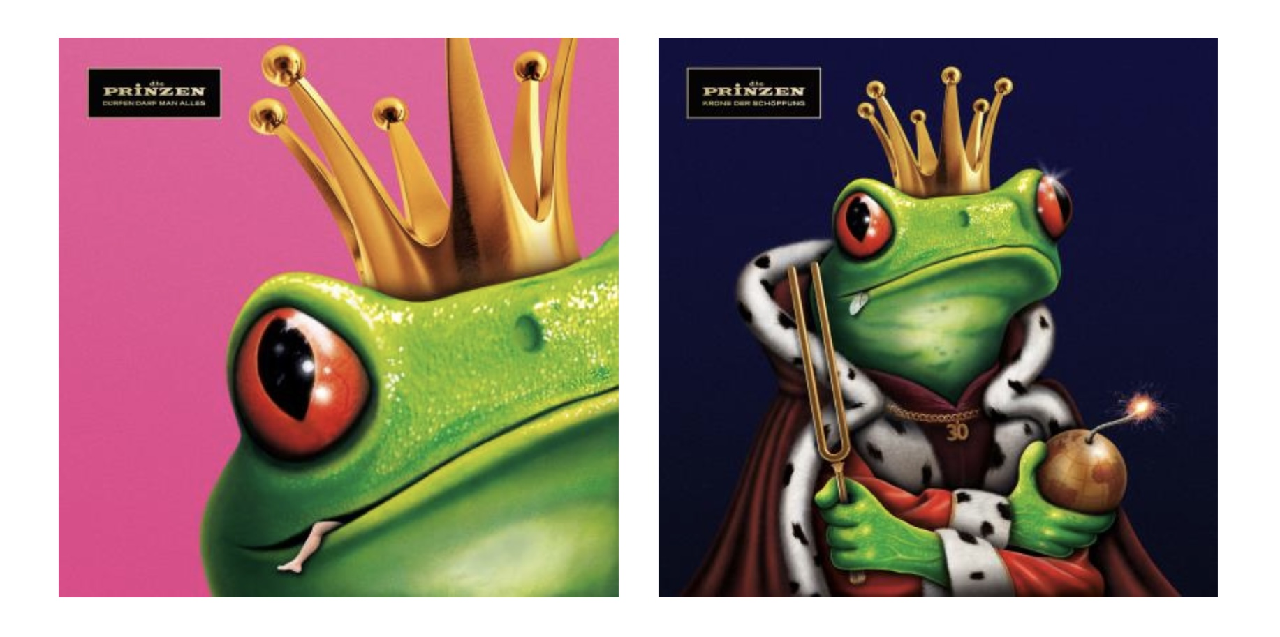Vergesst den weißen Hasen! Folgt dem grünen Frosch!! ;-)