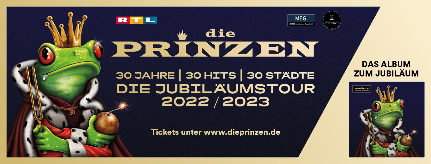 Die Jubiläumstour 2022/2023