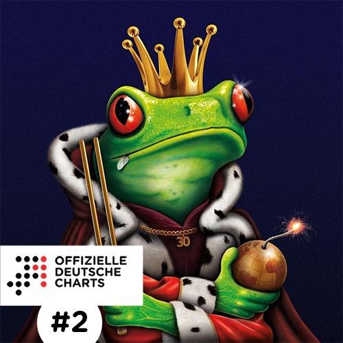 #2 in den Offiziellen Deutschen Charts